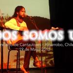 Cristóbal Valenzuela en encuentro de cantautores «Todos Somos Uno»