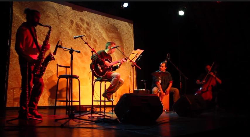 José Miguel Marambio en encuentro de cantautores «Todos Somos Uno»
