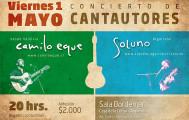 Camilo Eque y Soluno –  Concierto de Cantautores