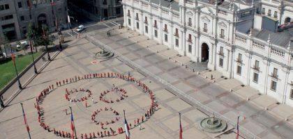Bandera de la Paz Humana 2012