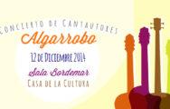 Concierto de Cantautores Algarrobo 2014